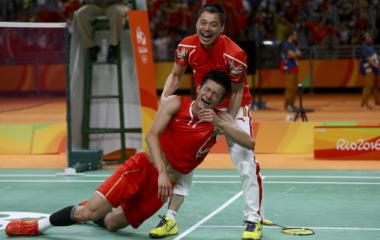 Badminton - Men's Singles Gold Medal Match