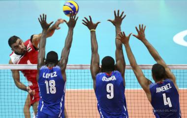 Volleyball - Men's Preliminary - Pool B Cuba v Egypt