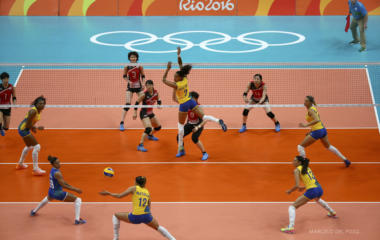 Volleyball - Women's Preliminary - Pool A Brazil v Japan