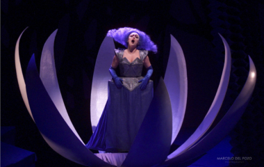 ITALIAN SOPRANO ESPOSITO PERFORMS MOZART'S OPERA 'THE MAGIC FLUTE' AT SEVILLE THEATRE.