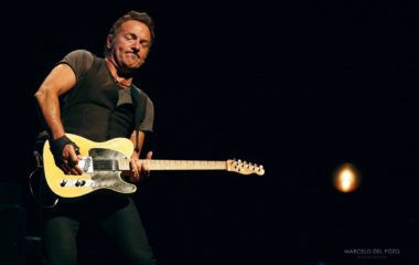 U.S. musician Bruce Springsteen performs with the E. Street Band in Seville